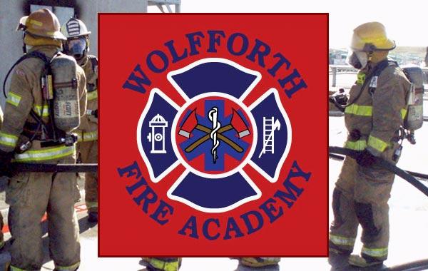 Wolfforth Fire Academy Logo